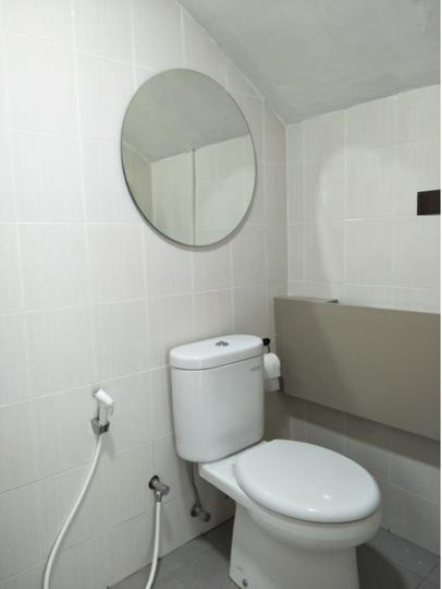Tipe 90 - interior bathroom