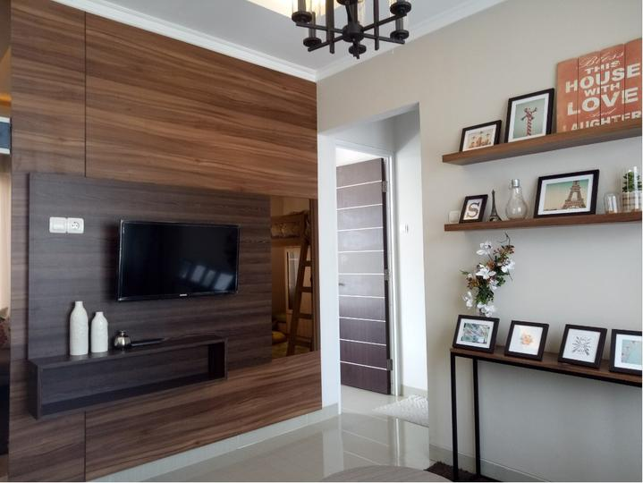Tipe 90 - interior living room 2