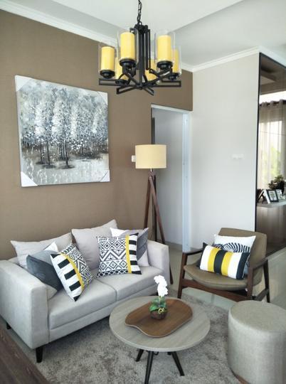 Tipe 90 - interior living room